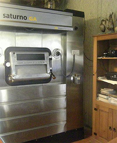 El horno donde se hacen los asados. Foto: Cosasdecome