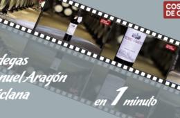 Cuatro vinos de las Bodegas Manuel Aragón, en un minuto