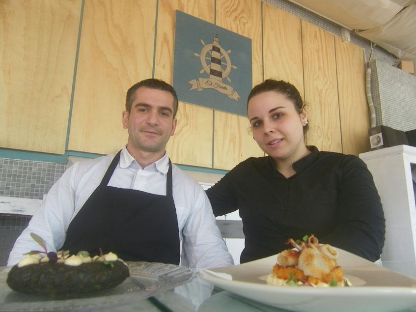 Juan Alberto Aragón y Ana Patricia Morales, los nuevos gerentes de El Farito: Foto: Cosasdecome.