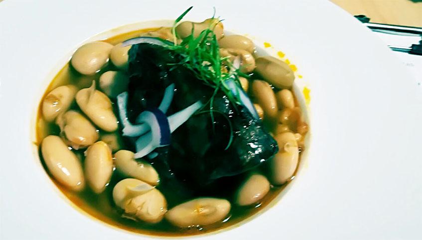 Los judiones con jarreter, uno de los nuevos platos de La Vera Cruz. Foto: Cedida por el establecimiento.