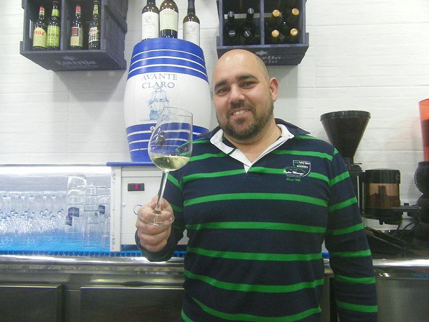 Manolo Rodriguez, jefe de cocina y copropietario del restaurante Avante Claro. Foto: Cosasdecome