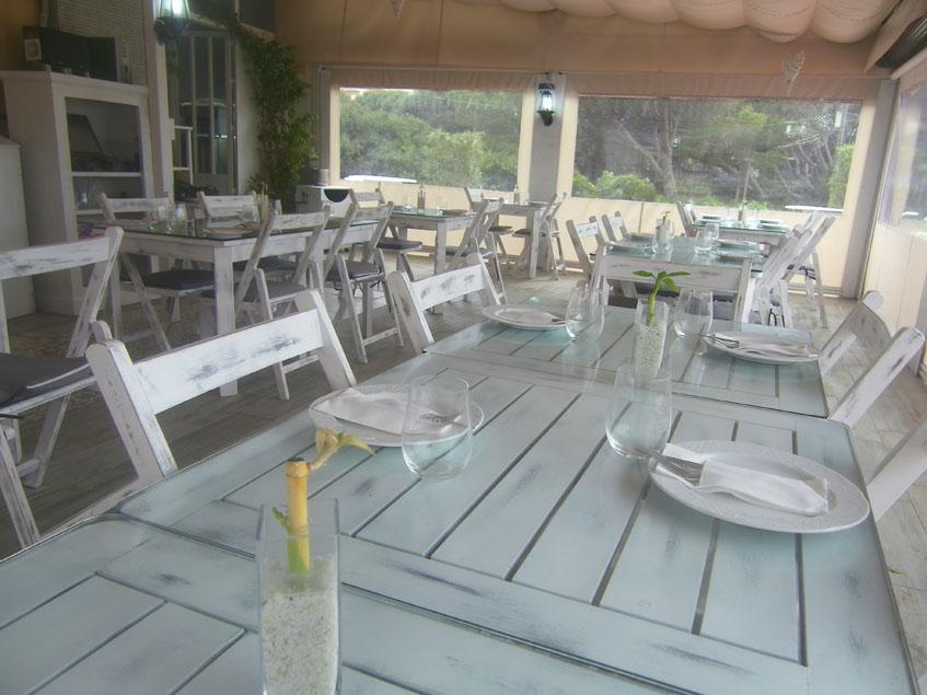 Así es ahora la terraza de El Farito. Foto: Cosasdecome