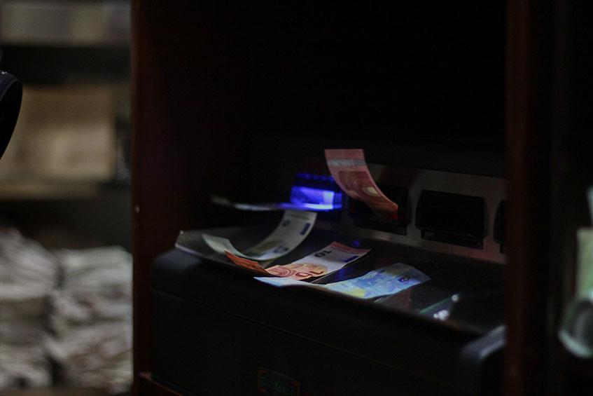 Una de las novedades de los restaurantes 2.0 es que la caja donde está el dinero es automática. Foto: Cedida por Vexel Publicidad y Marketing