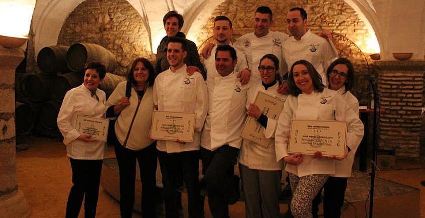 Los cuatro ganadores del Chef Sierra de Cádiz se enfrentarán en mayo