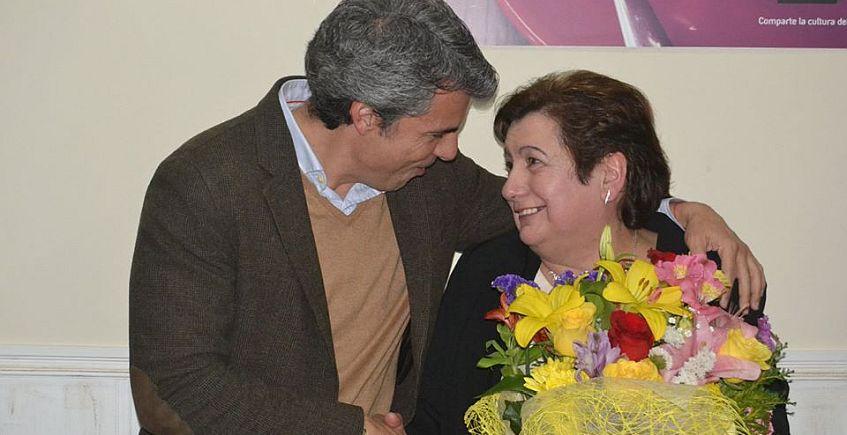 Los hosteleros de San Fernando nombran a Elvira Loureiro Mujer Trabajadora 2018