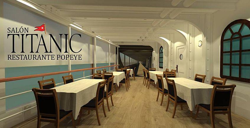 16 de marzo a 30 de junio. Chiclana. La última cena del Titanic en el Restaurante Popeye
