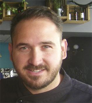 El cocinero Antonio Caramé.