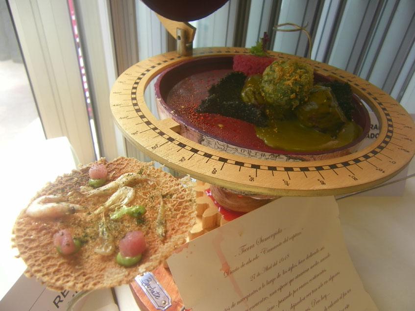 El plato del restaurante El Mercado que logró el segundo premio en cocina innovadora. Foto: Cosasdecome