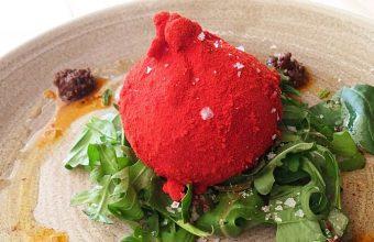 Burrata con pesto rojoportada