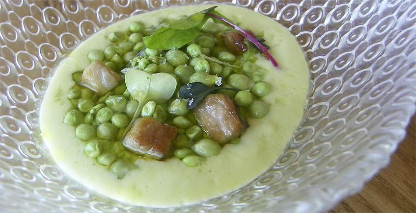 El plato de chícharos. Foto: Cosasdecome.