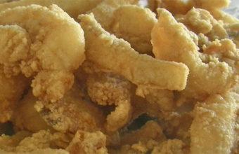 Los chocos fritos de la Cantina Marinera