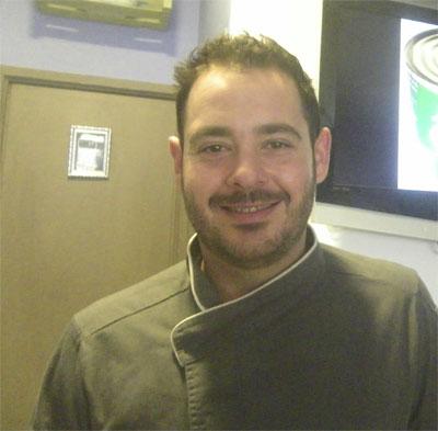El cocinero Enrique Hidalgo. Foto: Cosasdecome