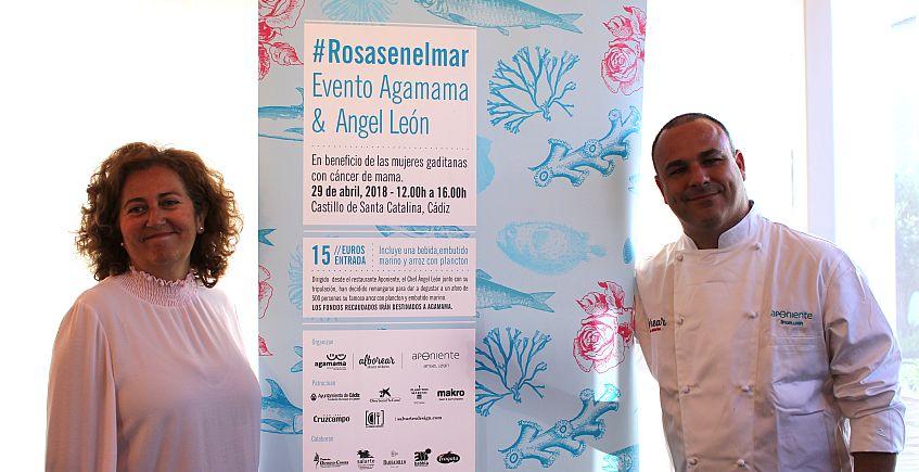 Arroz con plancton y embutido marino de Ángel León en un acto por las mujeres con cáncer de mama