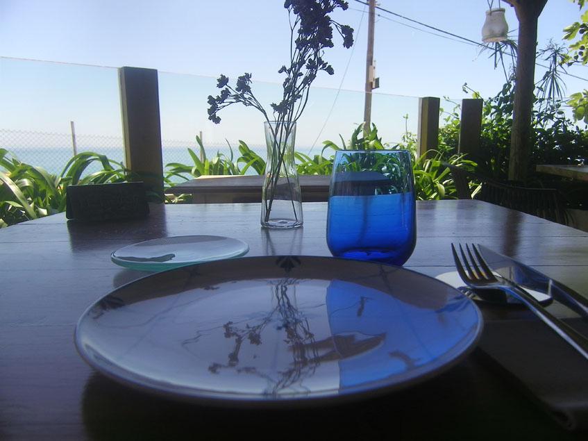 Vistas desde el comedor terraza del restaurante La Breña. Foto: Cosasdecome