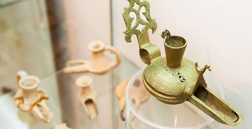Una de las piezas expuestas en el Museo. Foto del Ayuntamiento de Algeciras.