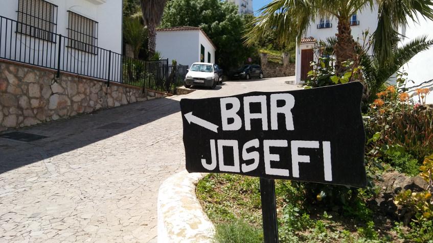 El bar Josefi está en el centro de Zahara de la Sierra. Foto: Cosasdecome