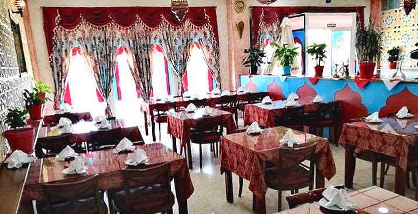 El tika masala de cordero del restaurante Taj Mahal