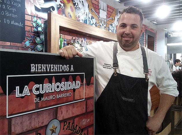 El cocinero Mauro Barreiro asesora a este nuevo establecimiento de Conil. Foto: Cosasdecome