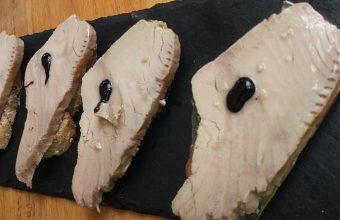 El pancón de solomillo de atún de Lo de Jairo