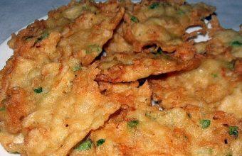 Las tortillitas de camarones de la Tasca El Conde