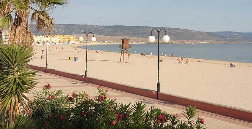 La playa del Carmen