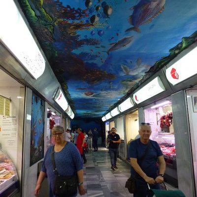 Imagen de uno de los pasillos.