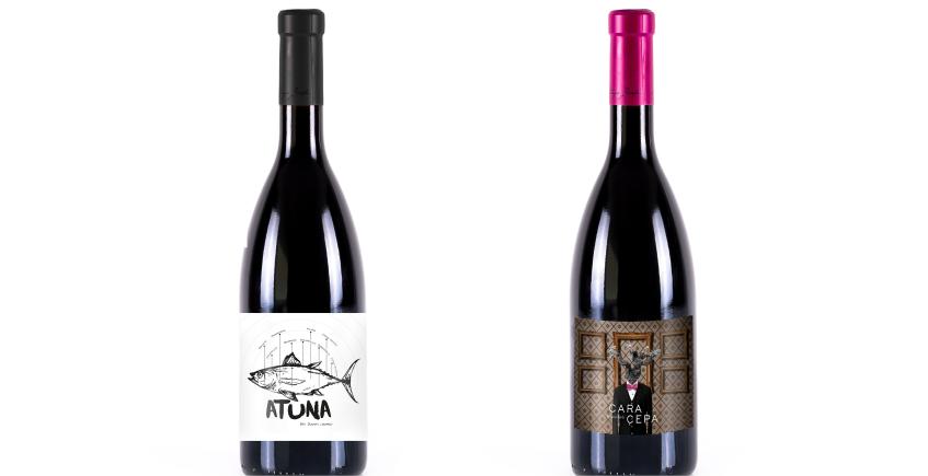 Un vino para acompañar la charla y otro para acompañar al atún