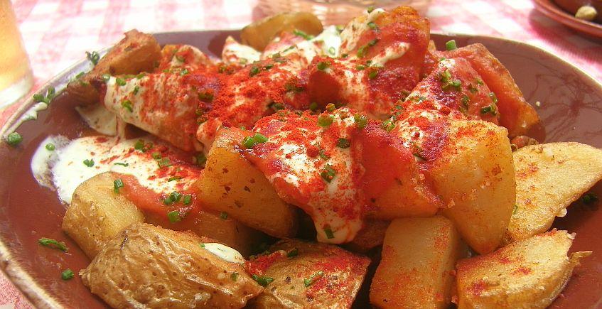 Las patatas bravas de El Francés.