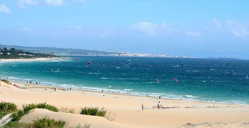 La playa de Valdevaqueros. Foto: Turismo de Tarifa