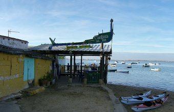 30 de noviembre. San Fernando. Degustación de garbanzos con langostinos en Bartolo