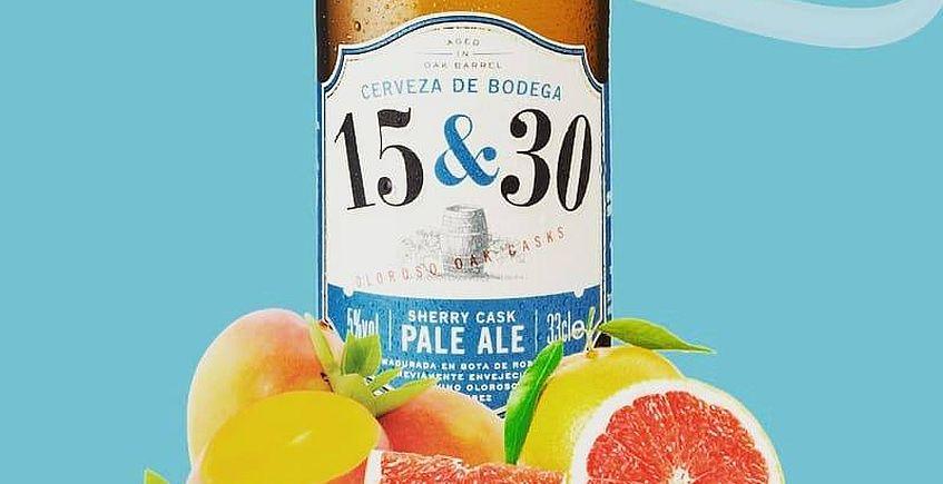 15&30 lanza una nueva cerveza Pale Ale más suave y ligera