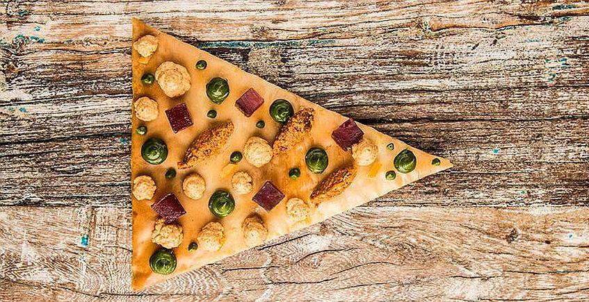 De la pizza marina con plancton al calamar a la carbonara