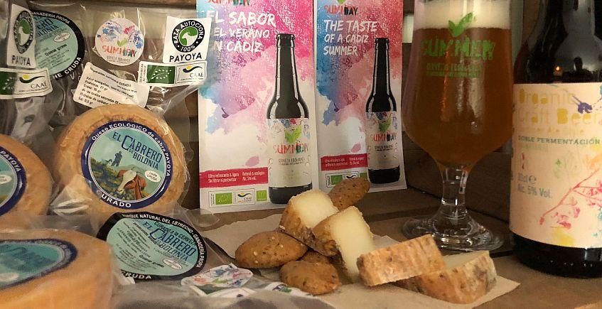 Un queso ecológico afinado en la cerveza artesanal de Castellar