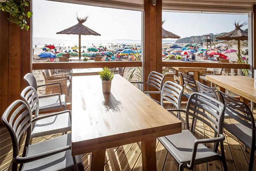 El comedor de Feduchy Playa. Foto: Julio González