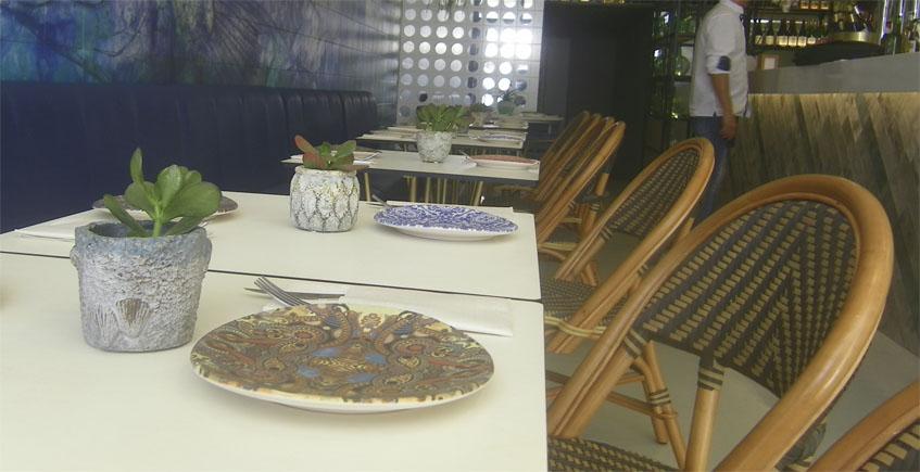 La decoración de las mesas está muy cuidada. Foto: Cosasdecome