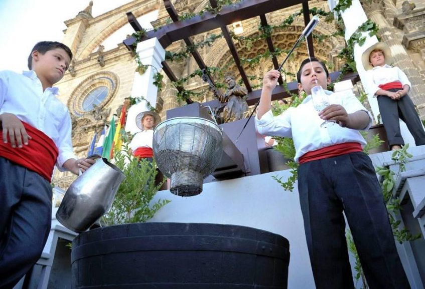 Pequeños Venenciadores. Foto: Ayuntamiento de Jerez