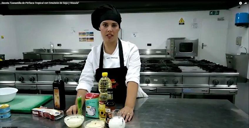 La gaditana Tamara González, semifinalista del concurso de tapas GMChef