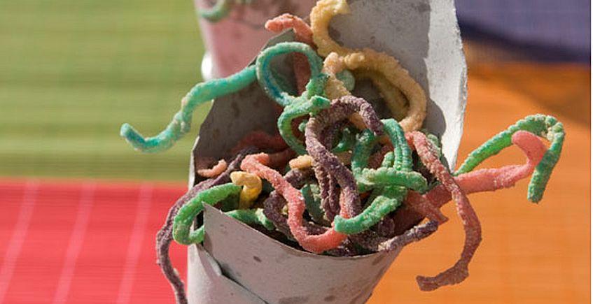 serpentinas de chocos redes