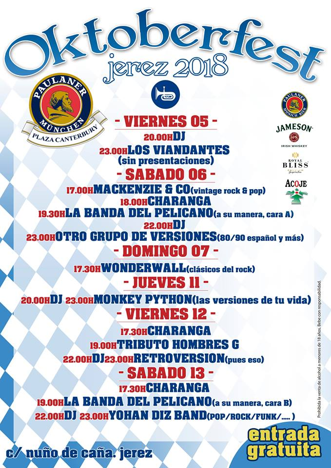 Agenda Jerez
