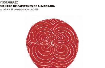 Detalle del cartel del encuentro de capitanes de almadraba de 2018 en Isla Cristina.