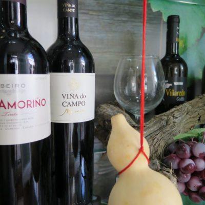 Vitrina de vinos. Foto: Cosas de Comé