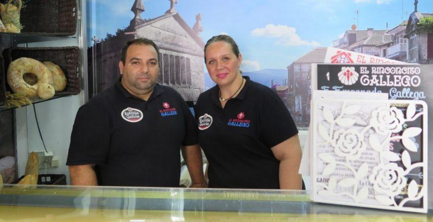 La única tienda especializada en productos gallegos de la provincia está en San Fernando
