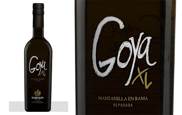 Goya XL, la gama más alta de esta manzanilla. Foto: Cedida por la bodega Delgado Zuleta.