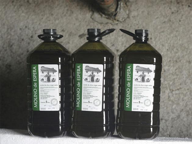 Aceite del Molino de Espera. Foto: Cedida por el Molino