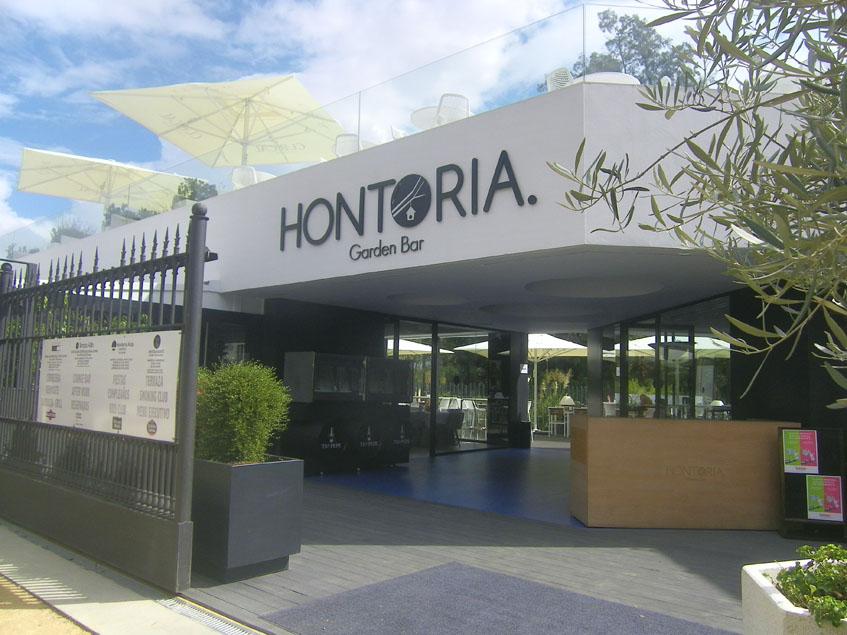 Imagen exterior del Hontoria Garden Bar. Foto: Cosasdecome