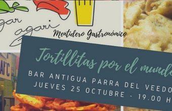 25 de octubre. Cádiz. Tortillitas por el mundo