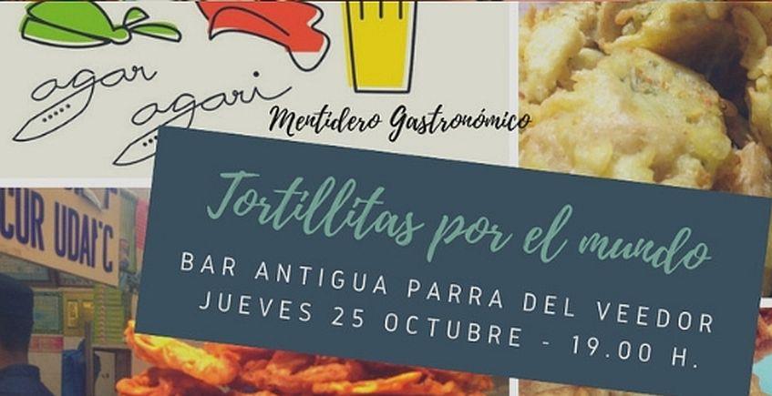Tortillitas de camarones asiáticas en La Parra del Veedor para explicar las de Cádiz