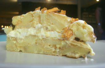 El pastel de tortilla de Teletortilla. Foto: Cosasdecome