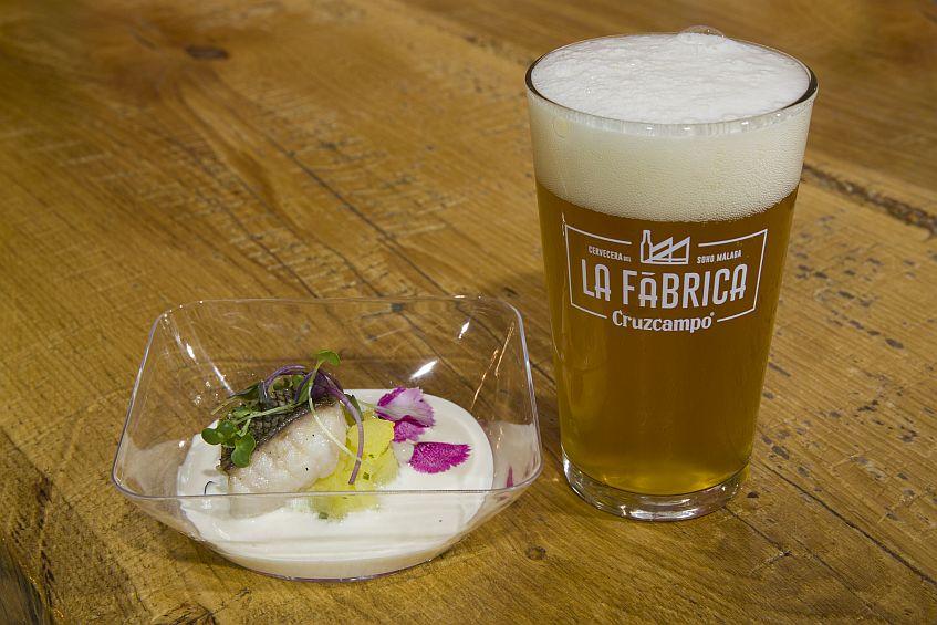 La cerveza, con su maridaje.
