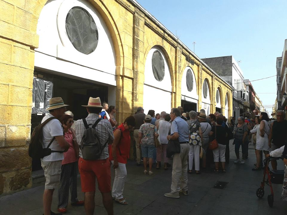 mercado foto de turismo de puerto real